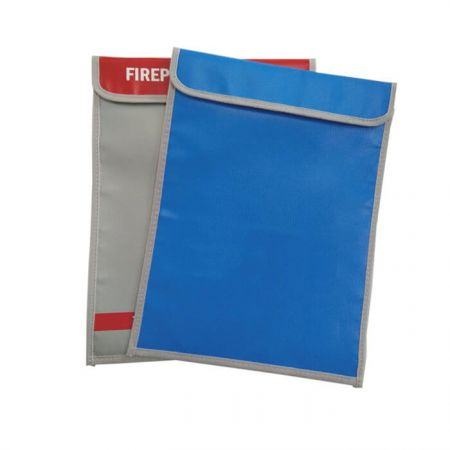 Fireproof Storage Bag with Zipper for Document Safe - Water and Fireproof  Resistant