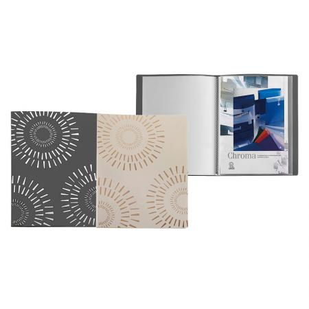 Foil Bronzing PP Display Book - Foil Display Book