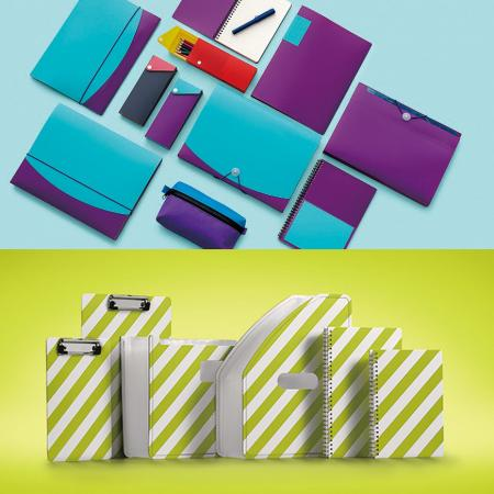 Filing Stationery - Leos' has own design team and provide seasonal new design stationery series.