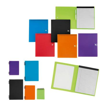 Notebook & Padfolio - Various Notebook Sizes for Writing.