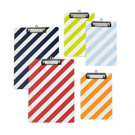 LE Stripe A4 Clipboard - LE Stripe Colorful A4 Clipboard