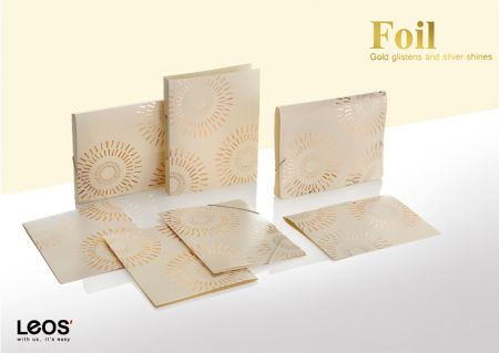 Foil Stamping Filing Stationery Series - Give your organization with fasion and personality by Leos' excellent printed designs.