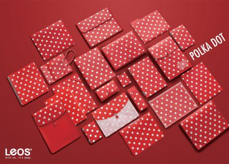 Polka Dot Pattern PP Filing Stationery Series - Polka Dots Filing Stationery