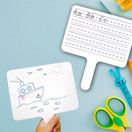OEM Dry Erase Paddle Board