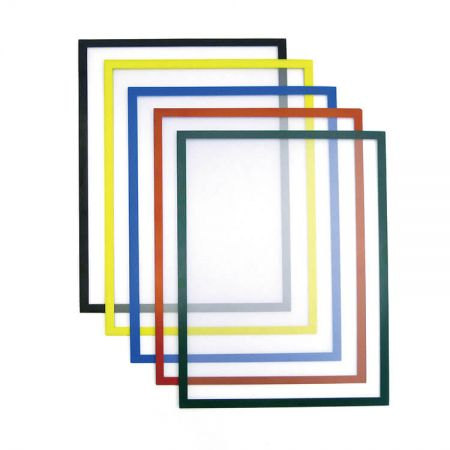 Self-Adhesive & Magnetic Frame - Magnetic Sign Holder and Self-Adhesive Frame are ideal for office, factory, school, and home.