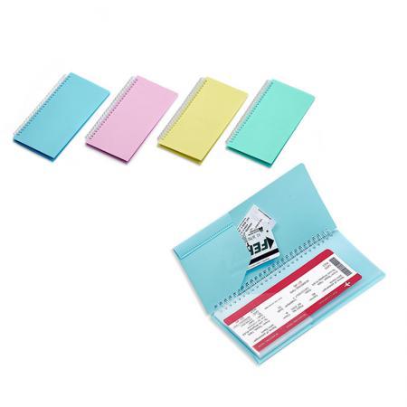 8 Pockets Ticket Holder - 8 Pocket Travel Organizer