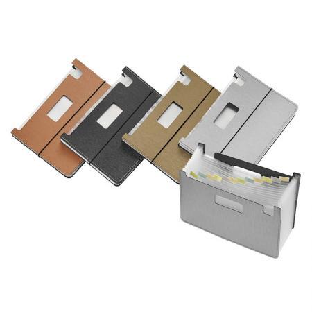 13 Pockets Expanding File - Silkrado Desktop Expanding File