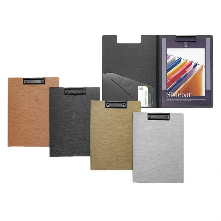 Brushed Metal Look Clipboard - Silkrado Clipboard