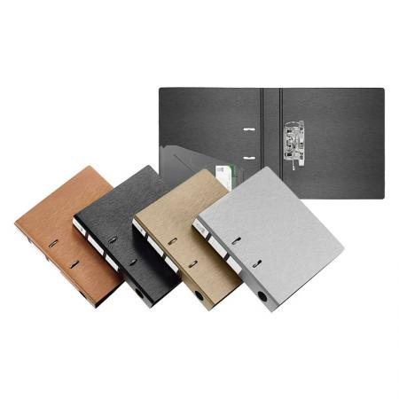 Brushed Metal Look Lever Arch File - Silkrado Lever Arch File