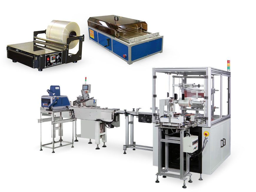 Machine d'emballage (pour film BOPP et cellophane)