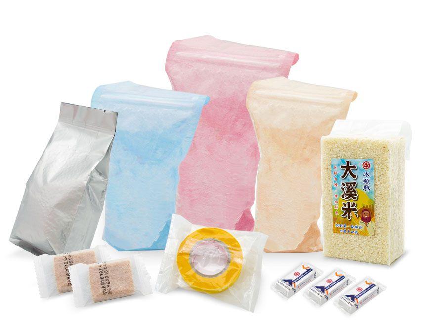 Matériau d'emballage souple (matériau en couches) / Sac debout à glissière