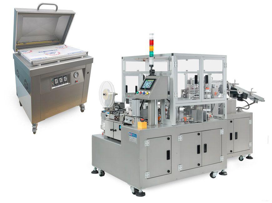 Divers modèles de machines d'emballage
