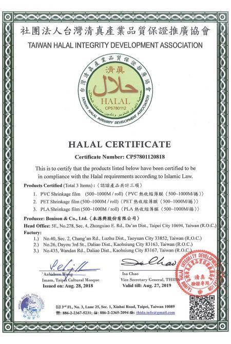 Chứng nhận sản phẩm Halal
