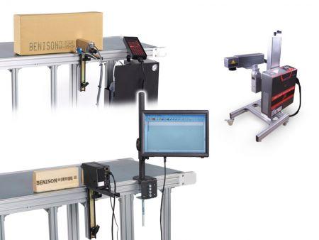 Impressora jato de tinta / codificador de data / codificador de código de barras / impressora de número de lote