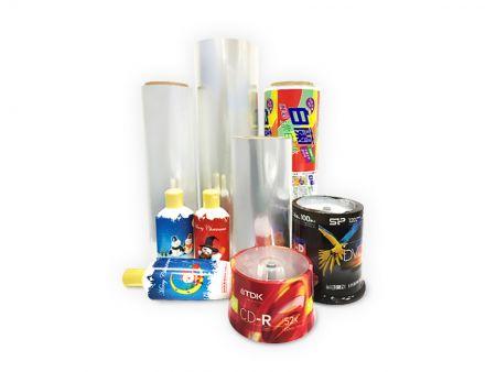 OPS Color Shrink Label - OPS-Schrumpfetikett / OPS-Etikett / OPS-Farbetikett / OPS-Farbschrumpfetikett
