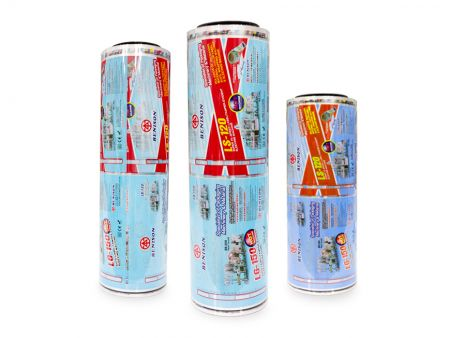 PLA Color Shrink Label - PLA-Schrumpffolie / PLA-Schrumpfetikett / PLA-Etikett / PLA-Farbetikett / PLA-Farbschrumpfetikett