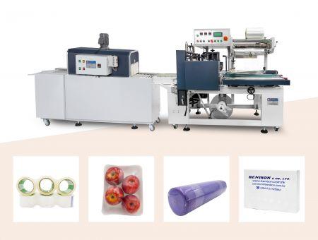 Máquina de selagem lateral automática, modelo padrão