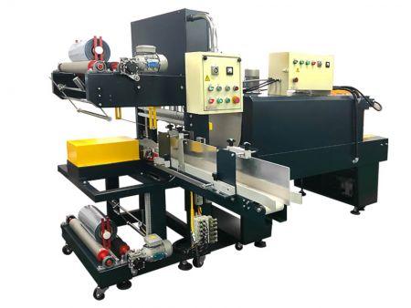 Machine d'emballage automatique de type manchon pour plusieurs emballages