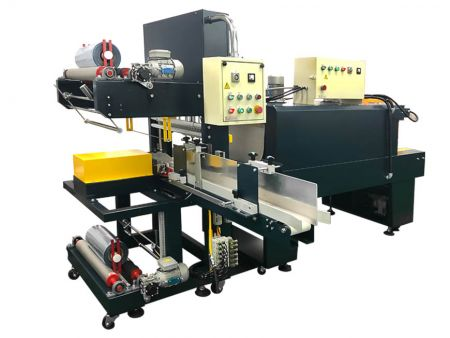 Auto Sleeve-Type Wrapping Machine for Multiple Package
