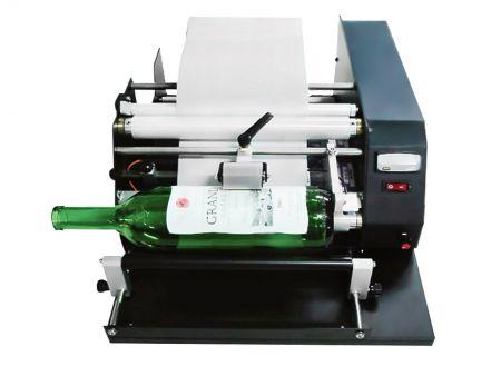 Silindir Tipi (L Boy) Yarı Atuo Pres Hassas Etiketleme Makinası