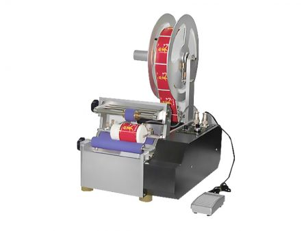 Cylinder-Type (S Size) Semi-Atuo Press Sensitive Labeler