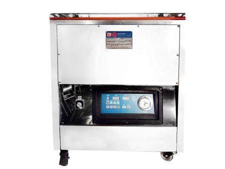 Máquina de embalagem a vácuo de bloco de arroz
