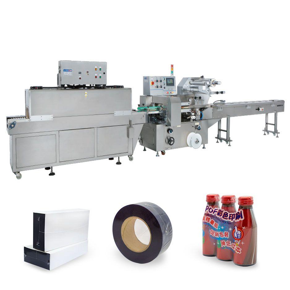 Máquina de enchimento e selagem de forma horizontal