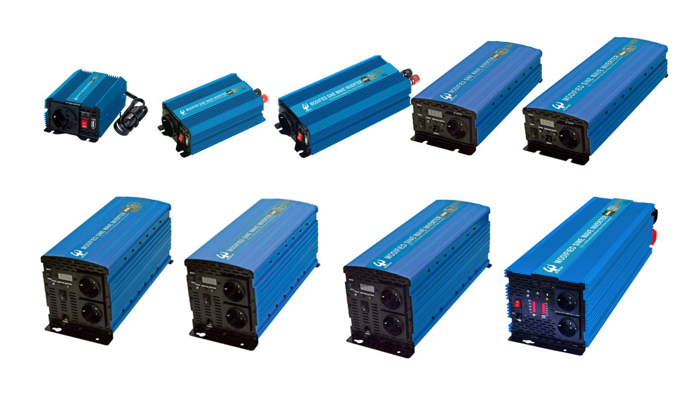 DC to AC PWM Modified Sine Wave Power Inverter