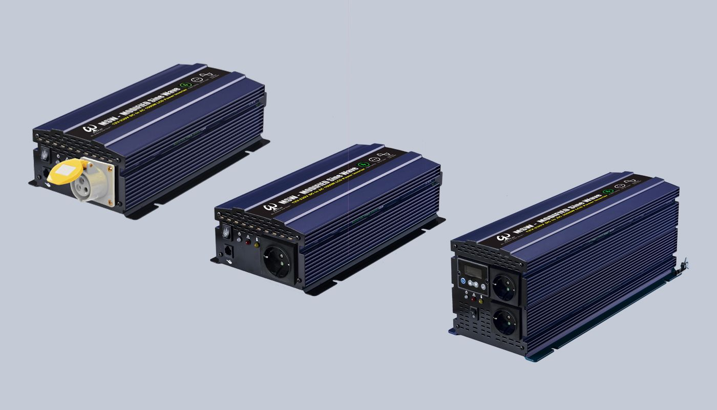 新一代非併網型直流轉交流LCD螢幕顯示含省電模式內部可設定值正弦波逆變器