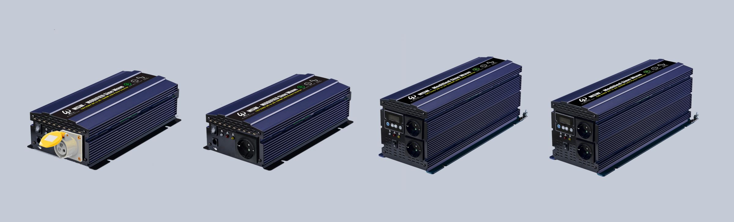 New LCD Modified Sine Wave Inverter