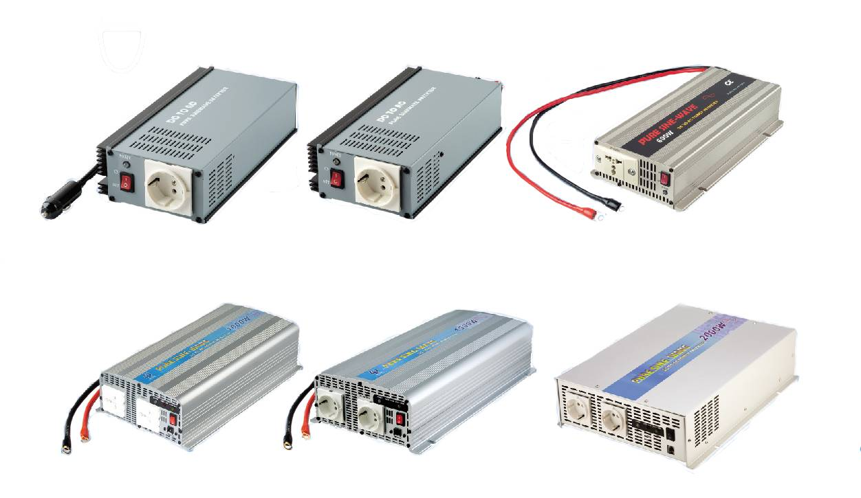 DC to AC Pure Sine Wave Power Inverter