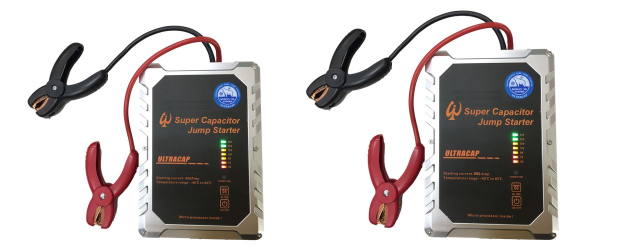 Wenchi Ultracapacitor Jump Starter