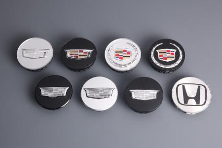 EMBLEMS FOR AUTO EXTERIOR & INTERIOR PARTS - Auto Electroplating Wheel Centre Cap