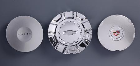 TAPA DE CETER DE RUEDA AUTOMÁTICA - Tapa central de galvanoplastia de dos piezas