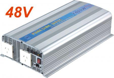 1000W PURE SINE WAVE POWER INVERTER 48V DC bis 115V/230V AC - INT Reiner Sinuswellen-Wechselrichter 1000W