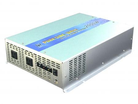 2000W PURE SINE WAVE POWER INVERTER 24V DC to 115V/230V AC - INT Pure Sine Wave Power Inverter 2000W US Version