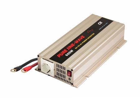 600W PURE SINE WAVE POWER INVERTER for 24V CAR BATTERY - INT Pure Sine Wave Power Inverter 600W