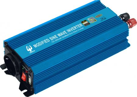 PWM 600W MODIFIED SINE WAVE POWER INVERTER - WENCHI PWM 600W MODIFIED SINE WAVE POWER INVERTER