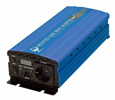 PWM 1000W MODIFIED SINE WAVE POWER INVERTER 12V DC to 220V AC - WENCHI PWM 1000W MODIFIED SINE WAVE POWER INVERTER