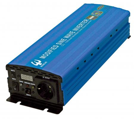 PWM 1500W MODIFIED SINE WAVE POWER INVERTER 12V DC to 220V AC - WENCHI PWM 1500W MODIFIED SINE WAVE POWER INVERTER