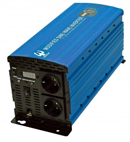PWM 2000W MODIFIED SINE WAVE POWER INVERTER 12V DC to 220V AC - WENCHI PWM 2000W MODIFIED SINE WAVE POWER INVERTER