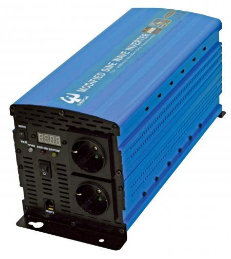 PWM 2500W MODIFIED SINE WAVE POWER INVERTER 12V DC to 220V AC - WENCHI PWM 2500W MODIFIED SINE WAVE POWER INVERTER