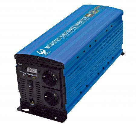 PWM 3000W MODIFIED SINE WAVE POWER INVERTER 12V DC to 220V AC - WENCHI PWM 3000W MODIFIED SINE WAVE POWER INVERTER