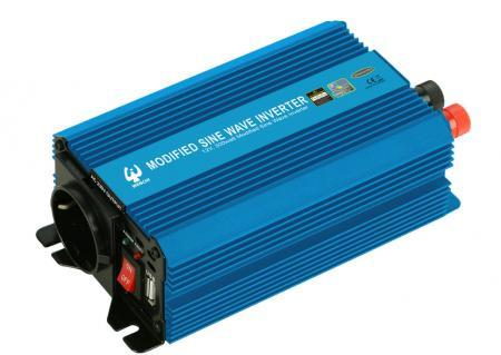 PWM 300W MODIFIED SINE WAVE POWER INVERTER 12V DC to 220V AC - WENCHI PWM 300W MODIFIED SINE WAVE POWER INVERTER