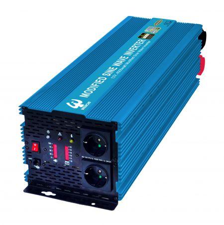 PWM 4000W MODIFIED SINE WAVE POWER INVERTER 12V DC to 220V AC - WENCHI PWM 4000W MODIFIED SINE WAVE POWER INVERTER