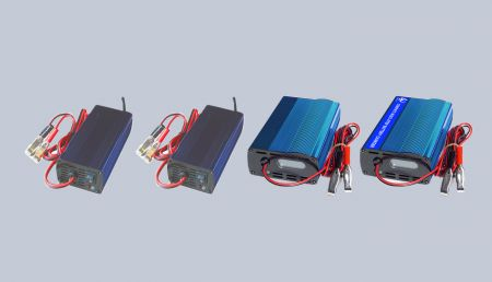 MULTI-STAGE BATTERY CHARGER - MULTI-STAGE BATTERY CHARGER