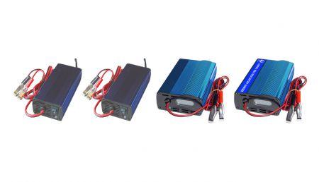多機能スマートの新バージョン     バッテリー充電器110V-12V / 24V AC-DC - 多機能スマートの新バージョン     バッテリー充電器