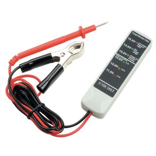 12V      Batterietester  - GROSSE KLEMME mit EINER SONDE - Batterietester  OBTC2