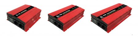 LCD SMART PURE SINE WAVE POWER INVERTER - DC to AC LCD SMART PURE SINE WAVE POWER INVERTER