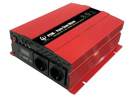 1000W LCD SMART PURE SINE WAVE POWER INVERTER 12V DC bis 220V AC - WINVPA10 1000W      Reiner Sinuswellen-Wechselrichter